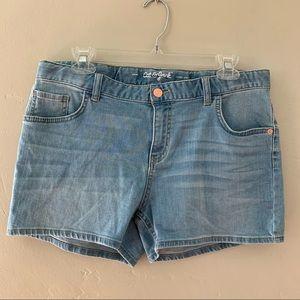 Cat & Jack Super Stretch Denim Shorts, Girls XXL